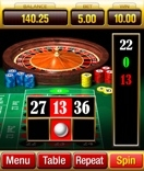 Microgaming based casino's offer Roulette on their mobile network