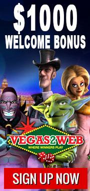 Vegas2Web Welcome Bonus
